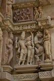 Pashvanath Temple in Khajuraho Royalty Free Stock Image