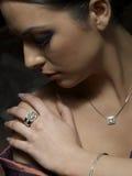 Pasión del diamante Foto de archivo libre de regalías