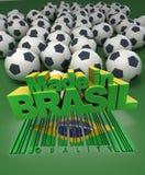 Pasión del fútbol Imágenes de archivo libres de regalías