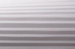 Pasiasta odmierzona miękka biała i popielata abstrakta papieru tekstura z halftone perspektywą Obraz Royalty Free