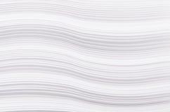 Pasiastego halftone białego papieru falista tekstura, abstrakcjonistyczny tło Obrazy Royalty Free