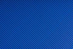 Pasiasty błękit embossed papier kolorowy papier Ciemnosiny tekstury tło Obraz Stock