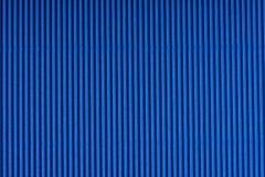 Pasiasty błękit embossed papier kolorowy papier Ciemnosiny tekstury tło Obrazy Royalty Free