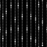 Pasiasty czarny i biały bezszwowy wzór Obraz Royalty Free