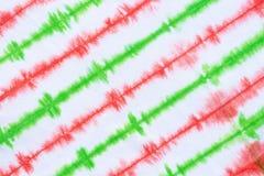 Pasiasty krawata barwidła wzoru abstrakta tło obraz stock