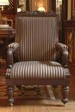 Pasiasty krzesło Zdjęcie Royalty Free