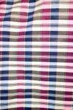 Pasiasty loincloth tkaniny tło Fotografia Stock