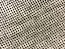 Pasiasty pościel worka tekstury tło w brązie Zdjęcia Royalty Free