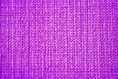 Pasiasty pościel worka tekstury tło w menchiach Zdjęcie Royalty Free