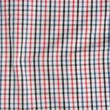 Pasiasty zmięty tablecloth. Fotografia Stock