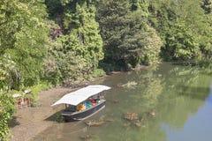 Pasieka na łodzi Zdjęcia Royalty Free