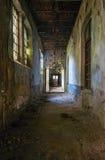 Pasillo abandonado Imagen de archivo