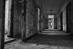 Pasillo abandonado Foto de archivo libre de regalías