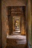Pasillo antiguo de Angkor Fotografía de archivo libre de regalías