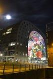 Pasillo colorido del mercado, Rotterdam Fotografía de archivo