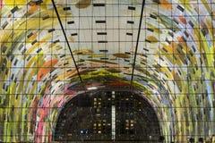 Pasillo colorido del mercado, Rotterdam Imágenes de archivo libres de regalías