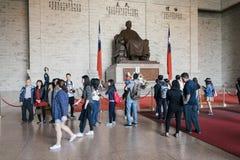 Pasillo conmemorativo de Chiang kai-shek en Taipei, Taiwán Fotos de archivo libres de regalías