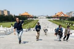 Pasillo conmemorativo de Chiang kai-shek en Taipei, Taiwán Imágenes de archivo libres de regalías