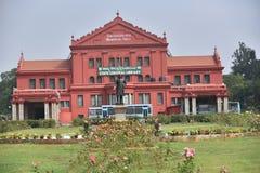 Pasillo conmemorativo de Seshadri Iyer, Bangalore, Karnataka imagenes de archivo