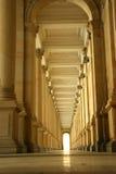 Pasillo de columnas, vestíbulo Fotos de archivo