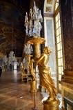 Pasillo de espejos, palacio de Versalles, Francia fotografía de archivo libre de regalías