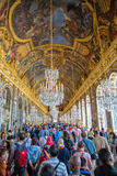 Pasillo de espejos, Versalles imagenes de archivo