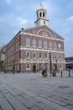 Pasillo de Faneuil en Boston Fotos de archivo libres de regalías