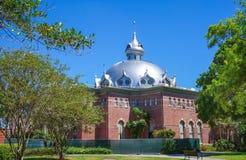 Pasillo de Fletcher de la universidad de Tampa Fotografía de archivo