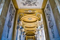 Pasillo de Gloriette en el palacio de Schonbrunn foto de archivo libre de regalías