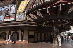 Pasillo de juego de Bill - Gansevoort en Las Vegas, nanovoltio el 20 de mayo, 20 Foto de archivo libre de regalías