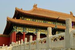 Pasillo de la armonía suprema, ciudad prohibida, Pekín Fotografía de archivo libre de regalías
