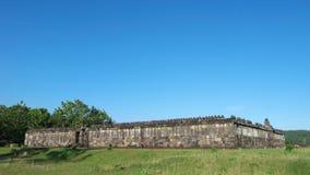 Pasillo de la audiencia del palacio del boko del ratu Foto de archivo
