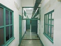 Pasillo de la cárcel de la prisión en Jing-Mei Human Rights Memorial y Cultu Imagen de archivo libre de regalías