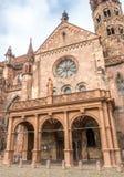 Pasillo de la catedral de la iglesia de monasterio de Friburgo Fotografía de archivo libre de regalías