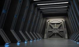 Pasillo de la ciencia ficción Imágenes de archivo libres de regalías