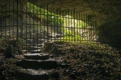 Pasillo de la cueva foto de archivo libre de regalías