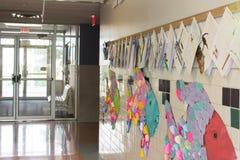 Pasillo de la escuela primaria Imagen de archivo