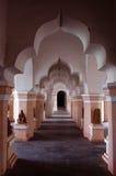 Pasillo de la gente del palacio del maratha del thanjavur Fotos de archivo libres de regalías