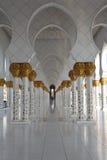 Pasillo de la mezquita imágenes de archivo libres de regalías