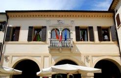 Pasillo de Portobuffolè en la provincia de Treviso en el Véneto Foto de archivo libre de regalías
