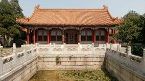 Pasillo de Yuhua, palacio de verano Fotos de archivo