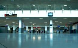 Pasillo del aeropuerto Foto de archivo