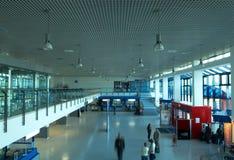 Pasillo del aeropuerto fotografía de archivo