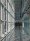 Pasillo del aeropuerto fotos de archivo