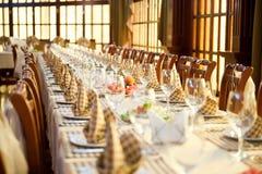 Pasillo del banquete Fotografía de archivo