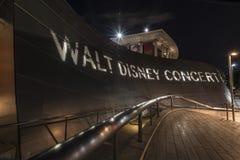Pasillo del conert de Disney Imagen de archivo