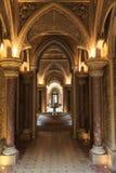 Pasillo del cuento de hadas del palacio de Monserrate en Sintra Imagen de archivo libre de regalías