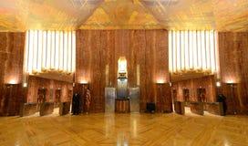Pasillo del edificio de Chrysler Fotografía de archivo libre de regalías