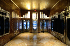 Pasillo del edificio de Chrysler Imagen de archivo libre de regalías