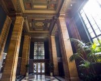 Pasillo del edificio de Los Ángeles Imagen de archivo libre de regalías